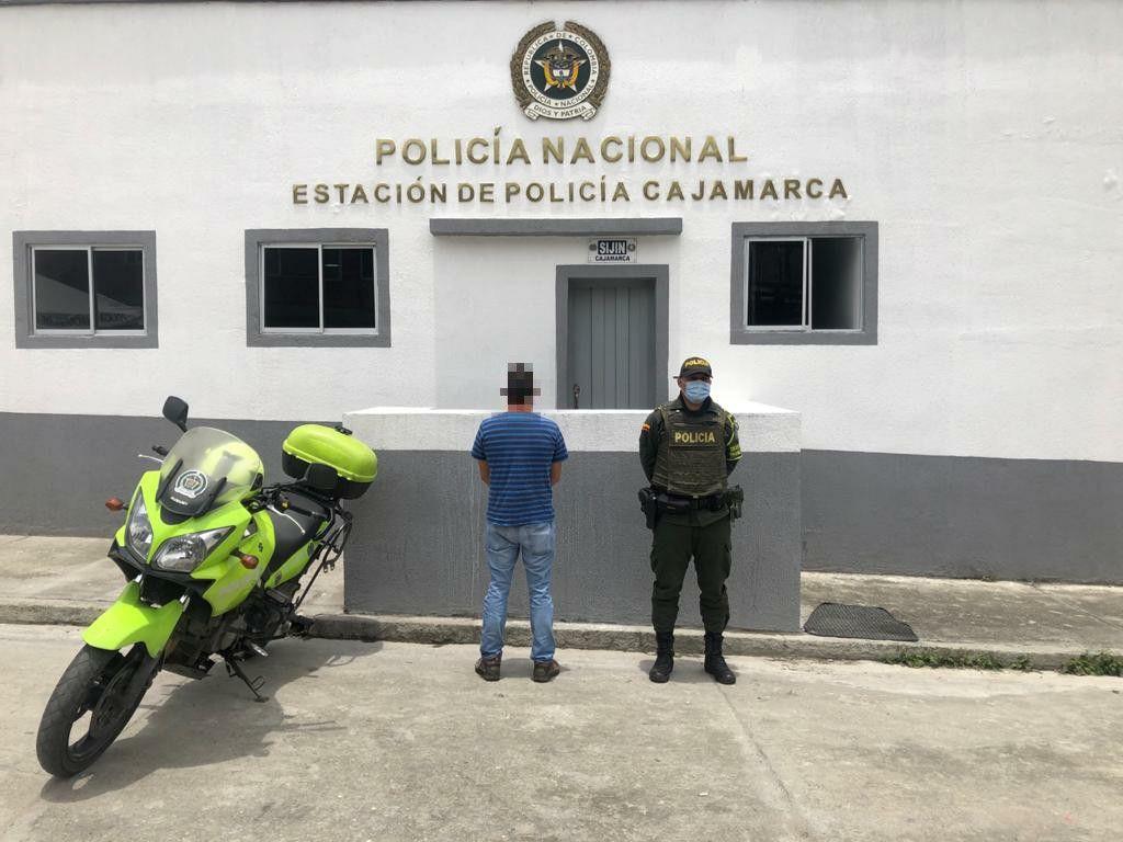 Estrategia de seguridad dio como resultado la captura en flagrancia de un ciudadano con documento falso.
