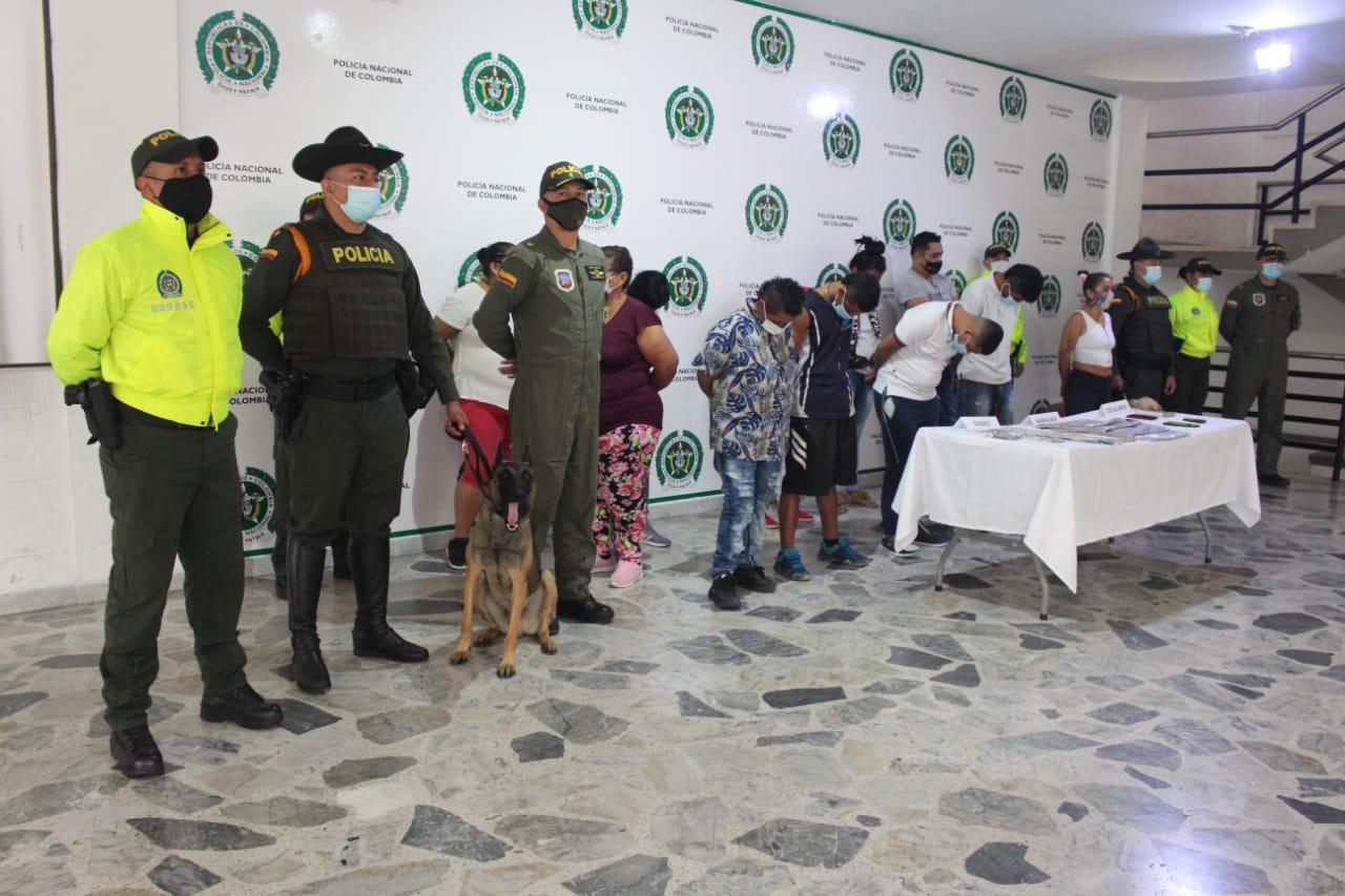 Cayeron los 'Mamba Negra', dedicados al microtráfico em las comunas Uno, Ocho y 11 de Ibagué