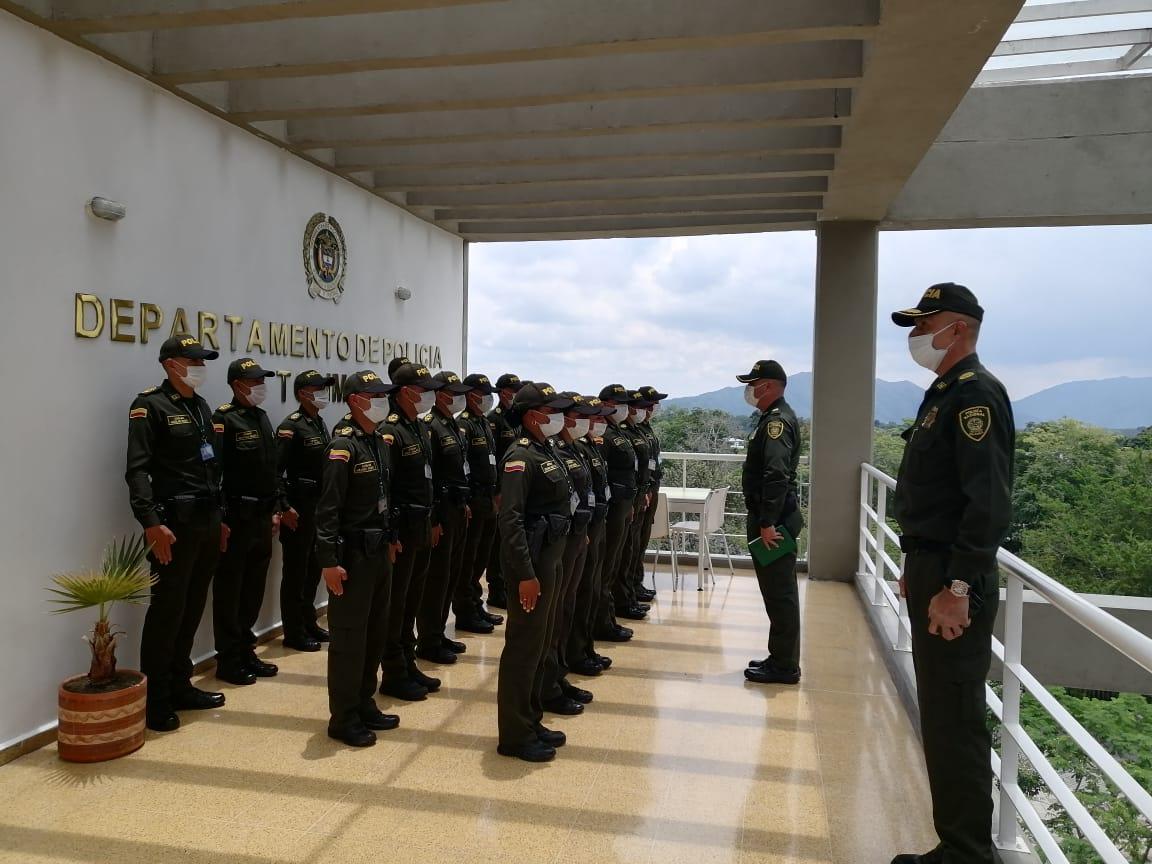 Alféreces de la Policía llegaron a reforzar la seguridad y convivencia en algunos municipios del