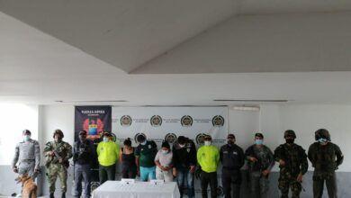 Fueron capturados cuatro personas por tráfico de estupefacientes en el Tolima