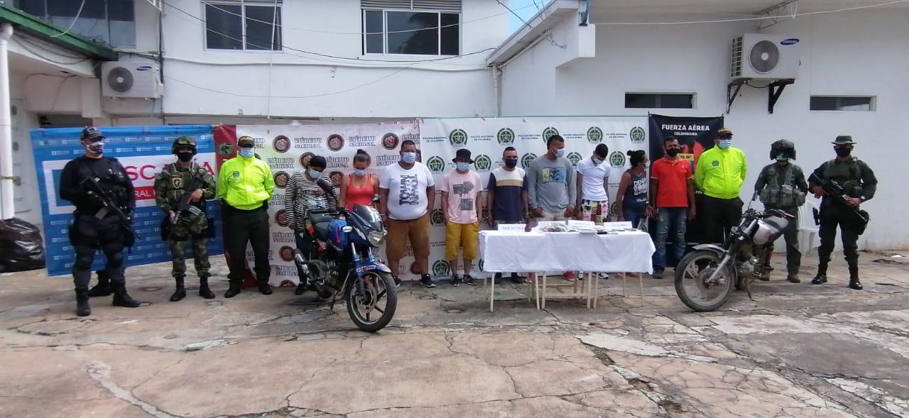 Ofensiva contra el micro tráfico deja 16 organizaciones impactadas y 241 personas judicializadas en el Tolima
