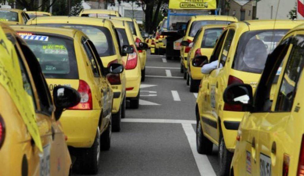 Nuevo 'pico y placa' para taxis en Ibagué