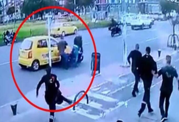 Taxista intentó detener a unos fleteros y fue asesinado en Bogotá