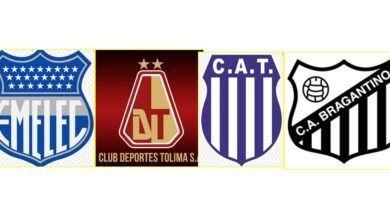 Deportes Tolima jugará ante Emelec, Talleres y Bragantino por el Grupo G de la Sudamericana