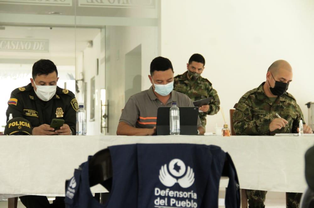 Gobierno departamental realizó consejo de seguridad por presunto caso de reclutamiento de menores