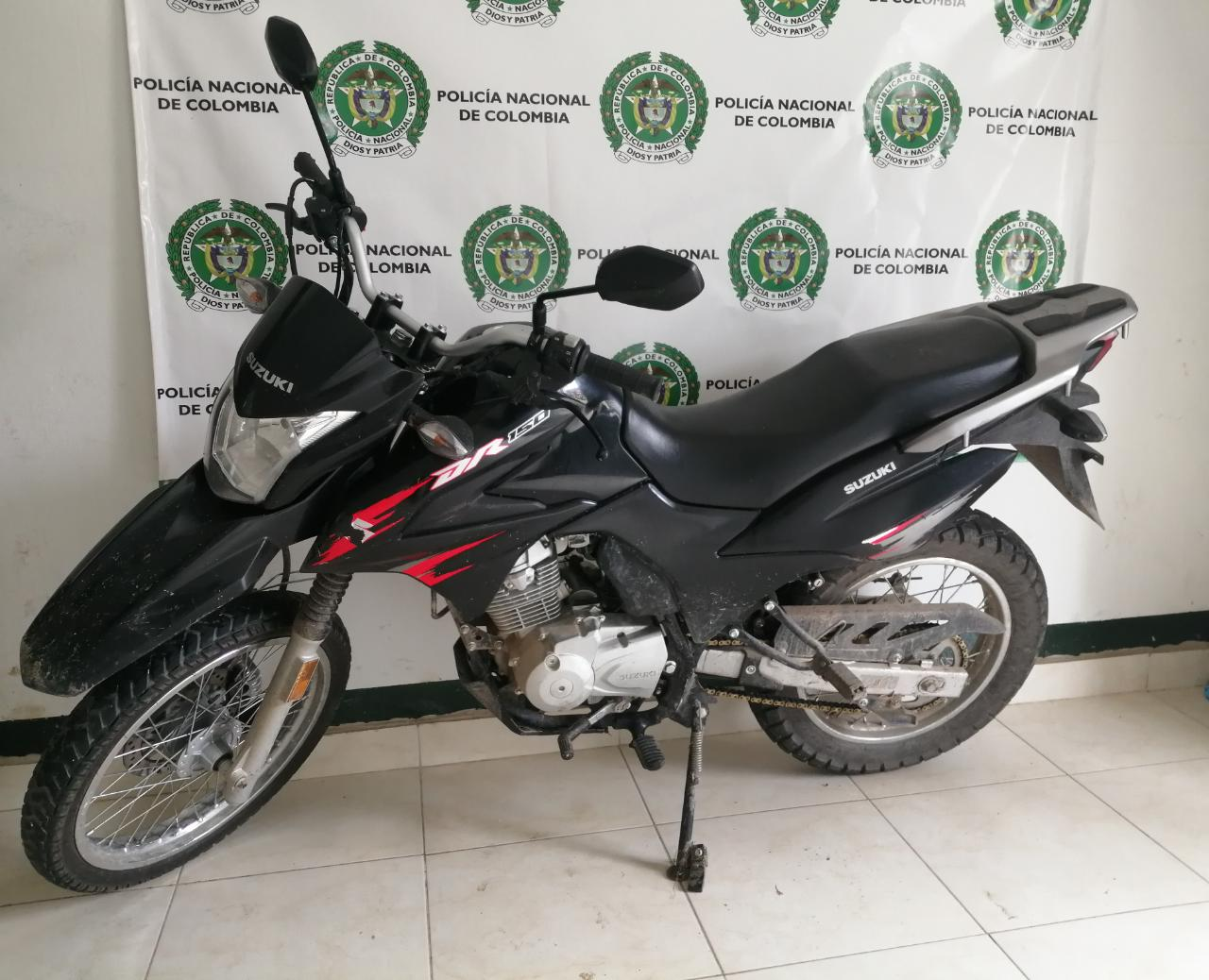 Policía recuperó dos motos robadas en San Antonio y Espinal