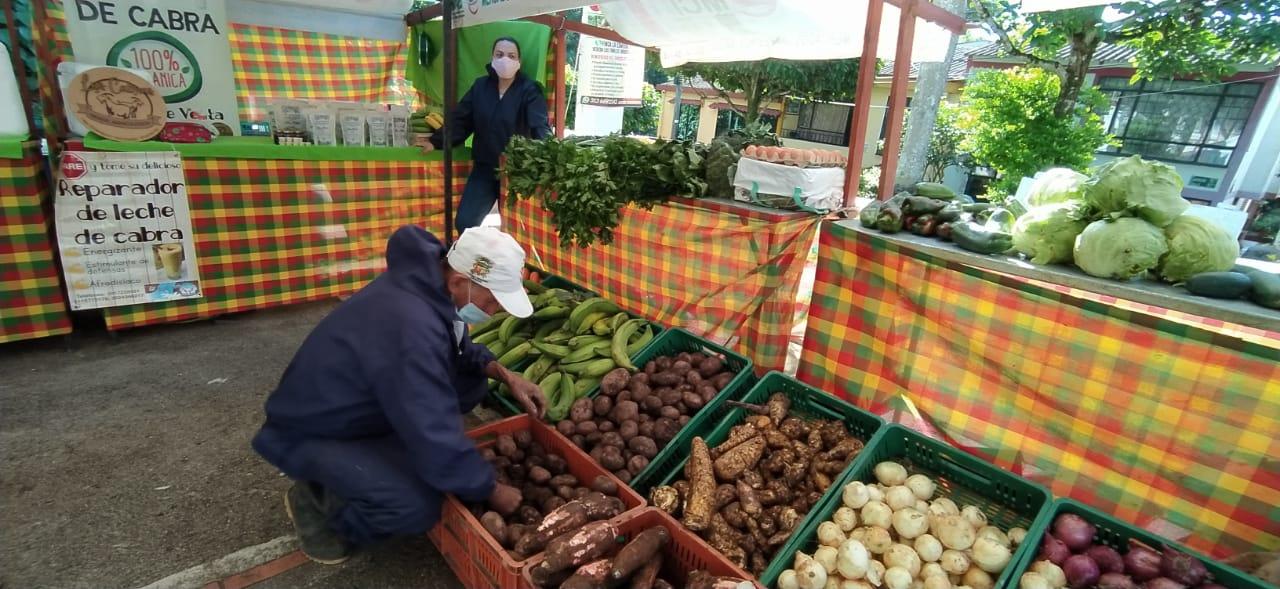 Los mercados campesinos móviles estarán este viernes en el parque Murillo Toro