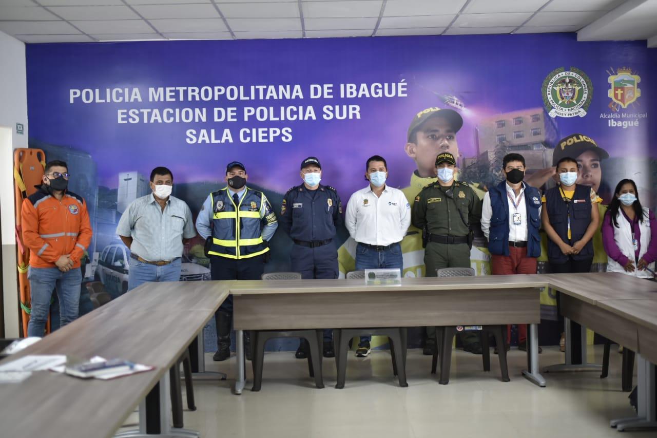 Autoridades instalaron Puesto de Mando Unificado por jornada de protestas