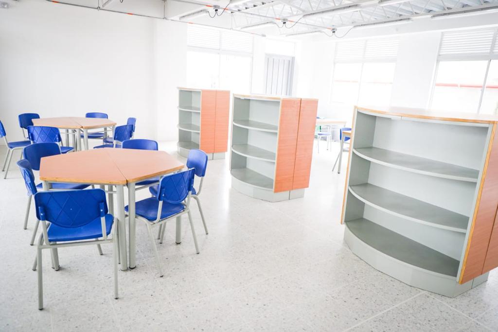 Más de 600 estudiantes se beneficiarán con el colegio Alfonso Palacio Rudas