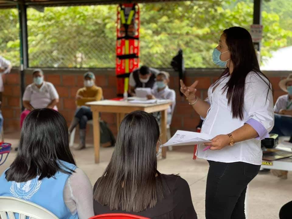 Iniciaron mesas de trabajo para fortalecer la ruta turística 'Marquetalia por la Paz'