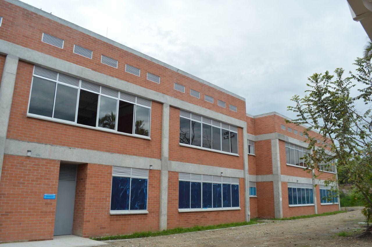 Finalizaron las obras del colegio Francisco de Paula Santander