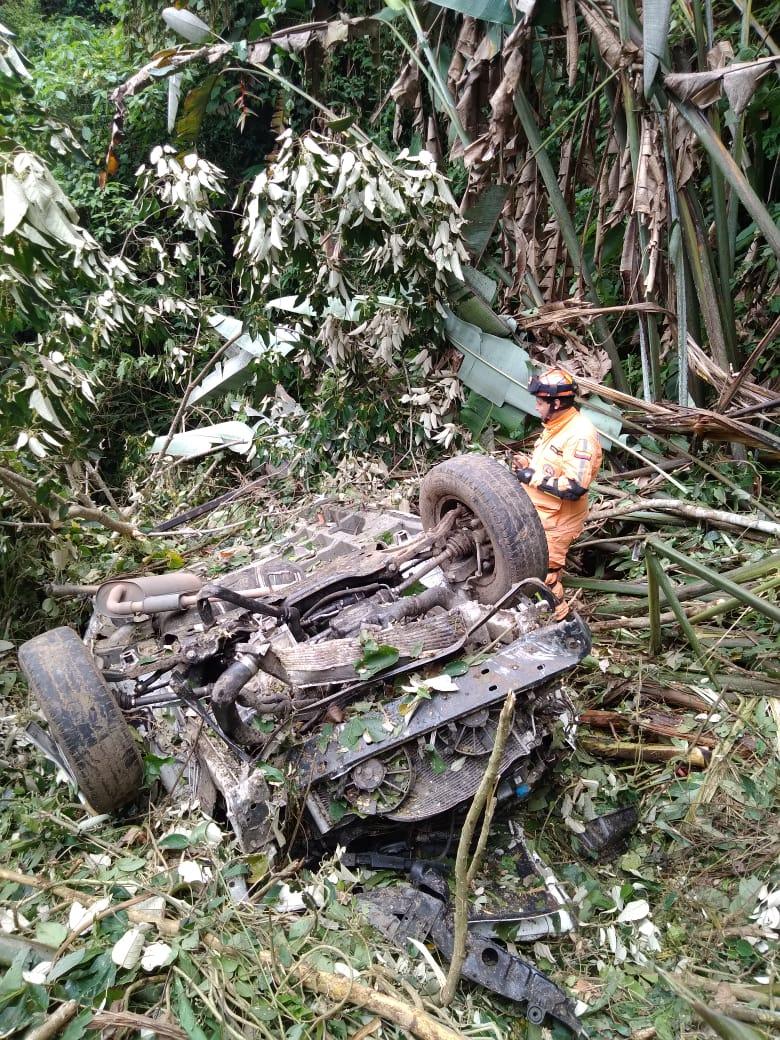 Accidente en la vía Manizales - Fresno