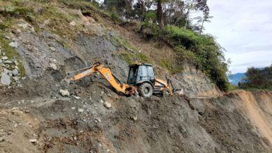 Autoridades atendieron emergencia en el sector El Ecuador en San Bernardo