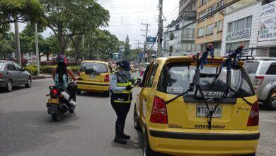 Alcaldía modificó el 'Pico y placa' para taxis en Ibagué
