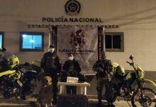 Mujer fue detenida con 8.300 dosis de marihuana en Cajamarca