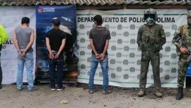 Capturados integrantes del grupo delincuencial 'Los Tastis'