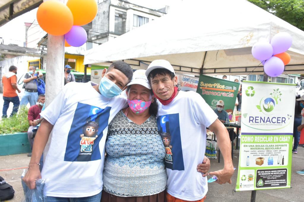 Más de 160 habitantes de calle se beneficiaron en jornada de atención integral