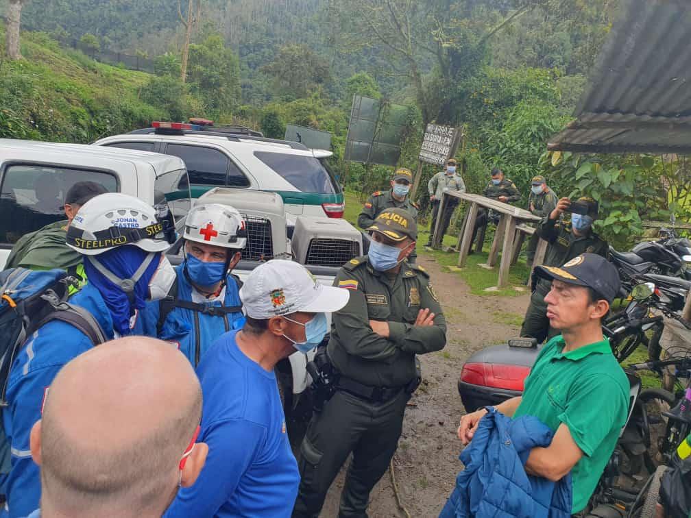Rescatan a montañistas extraviados en el Nevado del Tolima