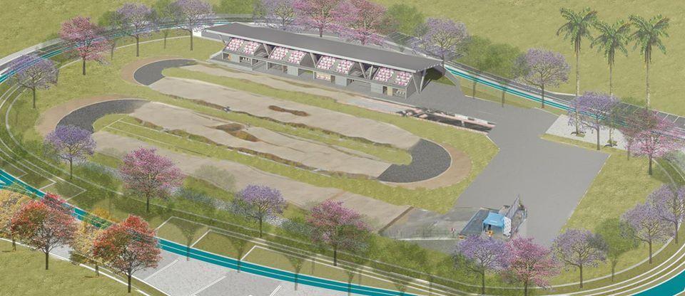 Así será la Pista de BMX que se construirá en el Parque Deportivo de Ibagué