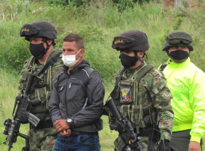 Condenando hombre de confianza y escolta de cabecilla militar del frente Tulio Varón