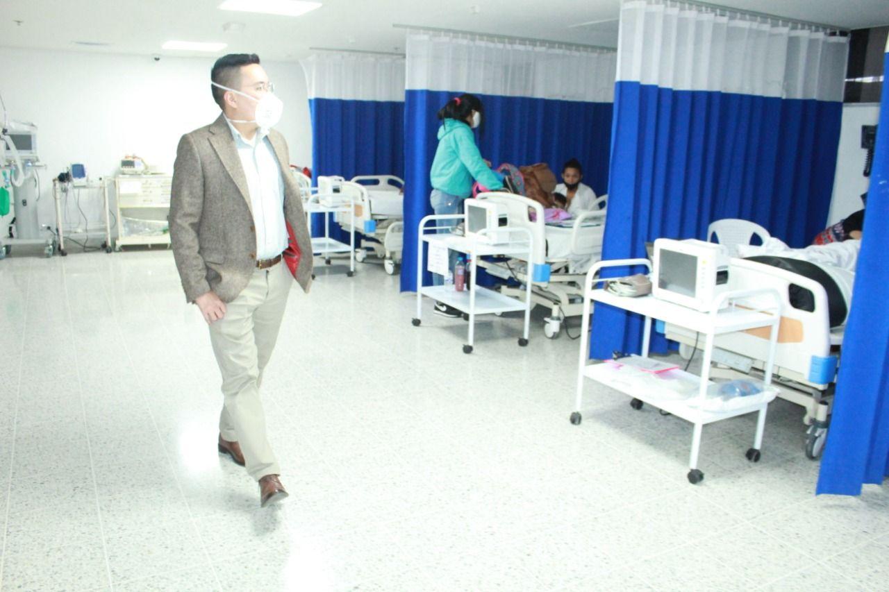 En 70% se encuentra la ocupación de camas de las unidades de cuidado intensivo del Hospital Federico Lleras Acosta