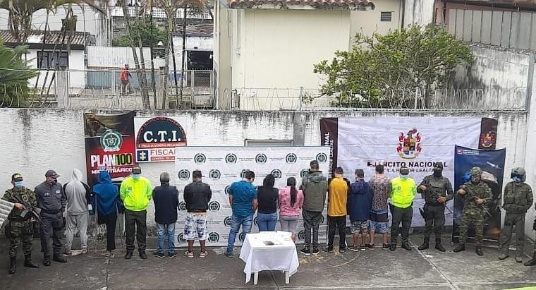 Operación 'Zircón' acabó con la banda 'Los Nietos'