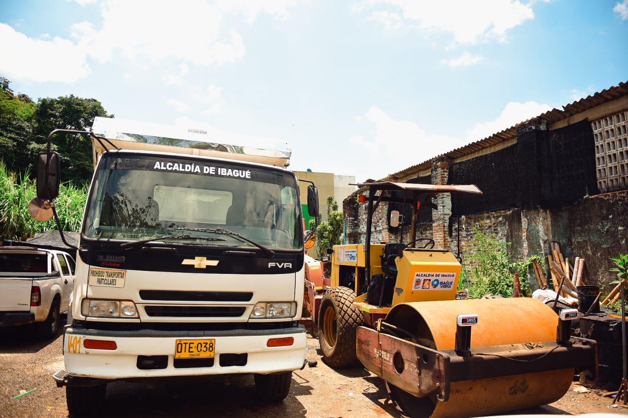 Alcaldía de Ibagué recuperó maquinaria que estaba en abandono hace varios años