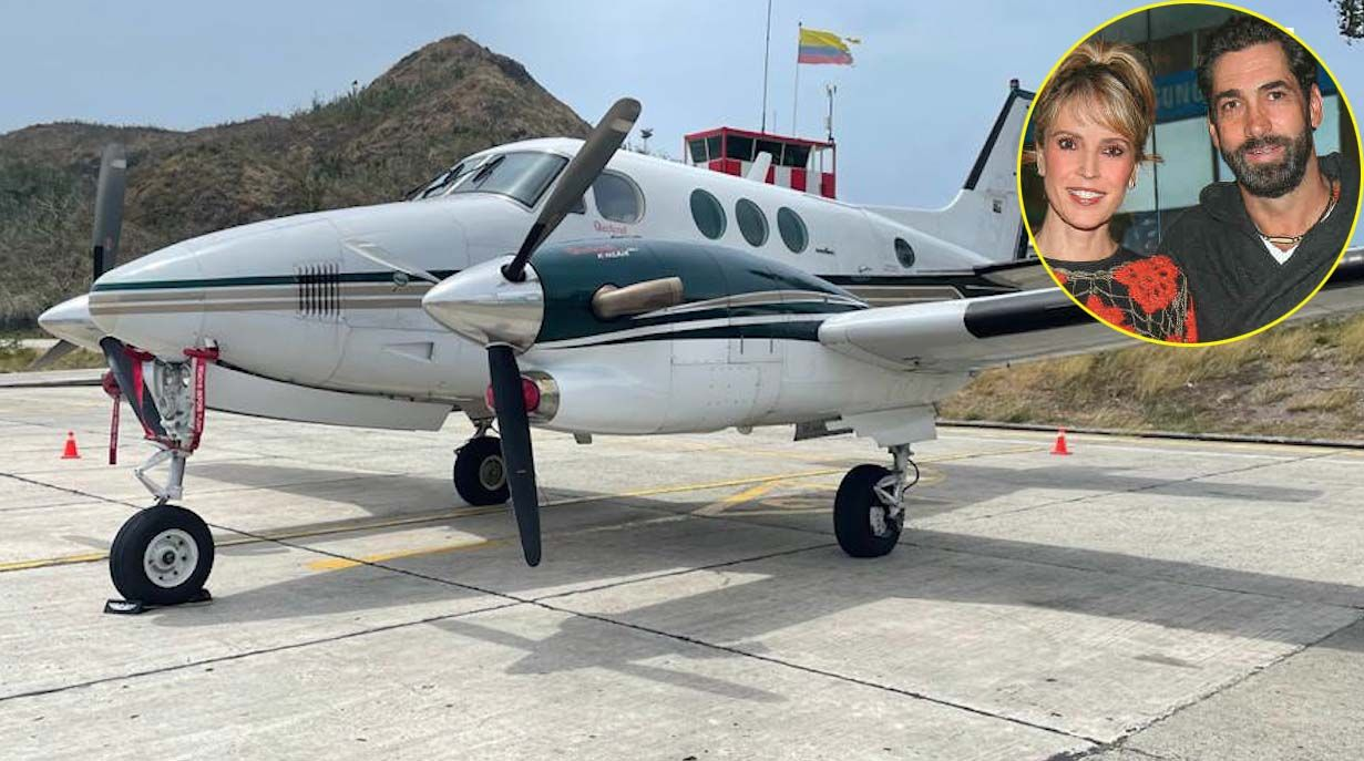 La novela de los 446 kilos de cocaína en avioneta del esposo de Alejandra Azcárate