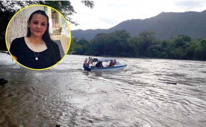Buscan a psicóloga desaparecida en el río Magdalena en Honda