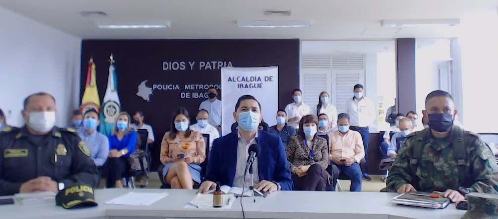 Alcalde propone no más toques de queda, ni 'ley seca' en Ibagué