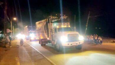 Transportadores levantan bloqueos en el sur del Tolima