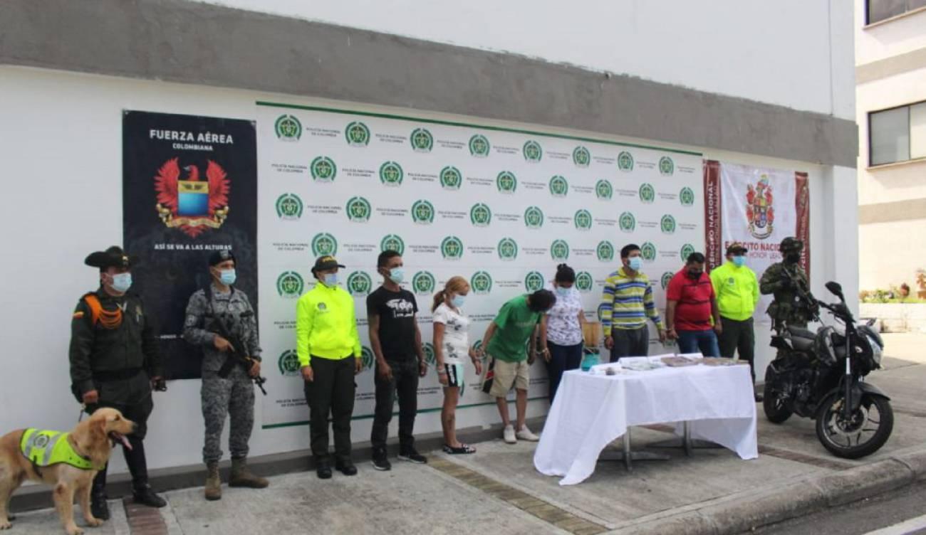 Atraparon a 'Los Topos', una banda de microtraficantes