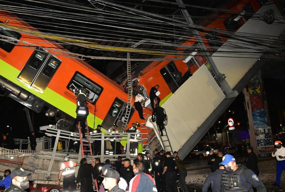 Tragedia en Metro de México