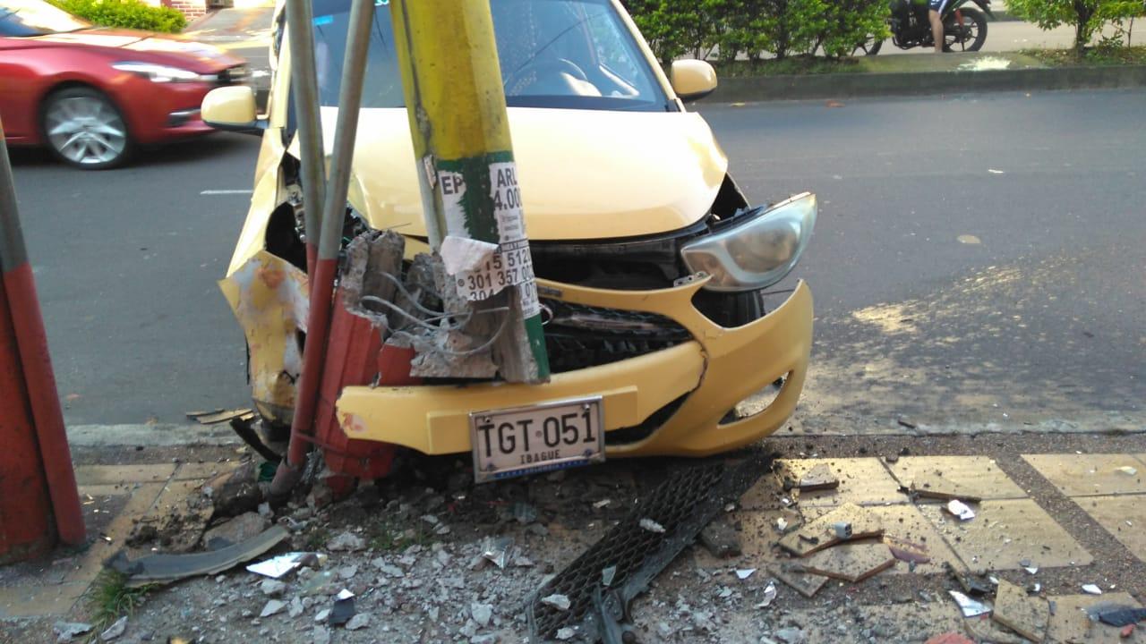 Triste 'Día del Trabajo' para un taxista en Ibagué