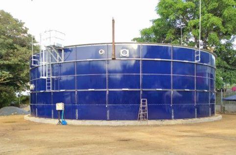 Finalizó instalación del tanque sur del Acueducto Complementario