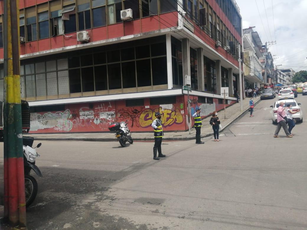 Agentes de Tránsito garantizan la movilidad de los ibaguereños durante manifestaciones