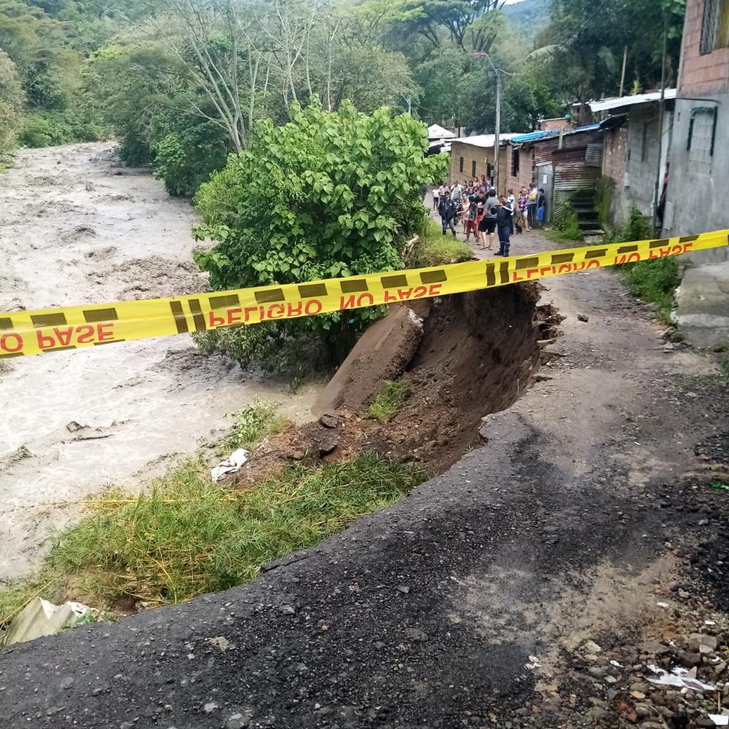 Alcaldía de Ibagué adelanta acciones para atender y mitigar emergencias en el barrio Baltazar