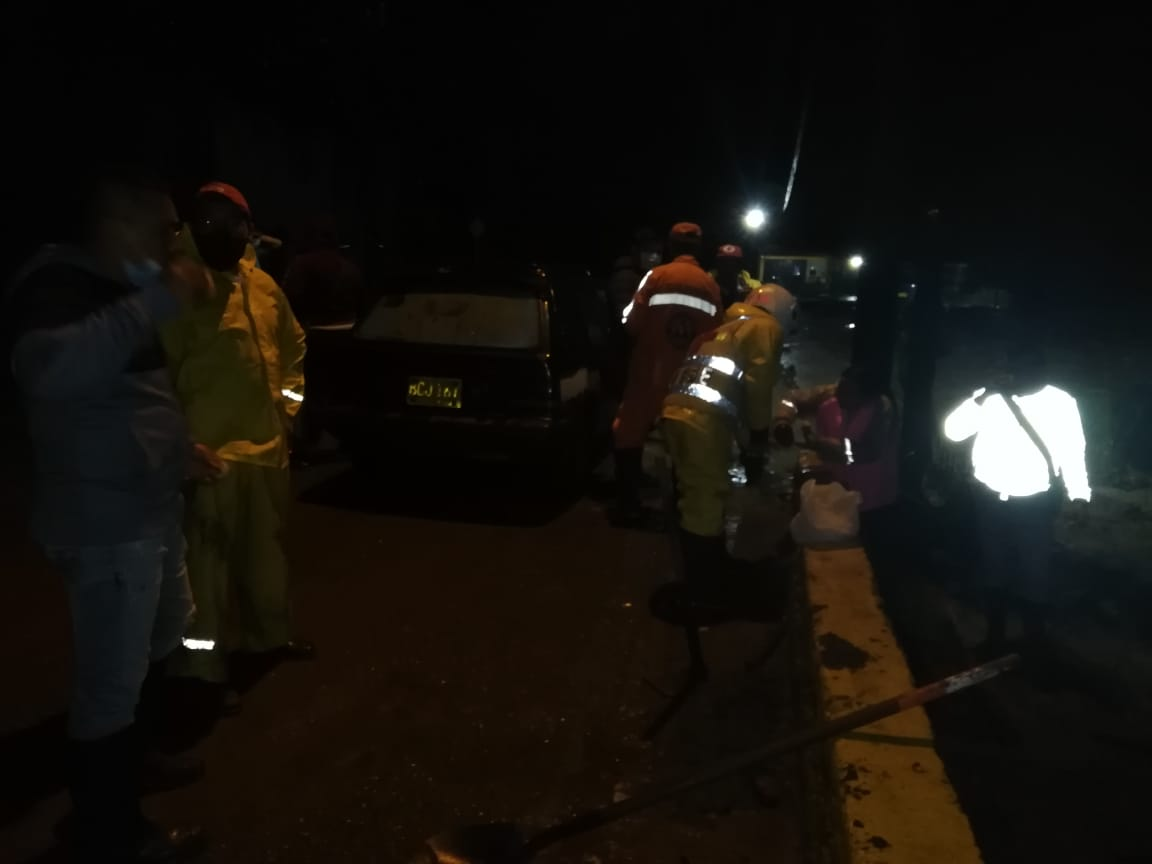 Emergencias por creciente del río Bermellón en Anaime