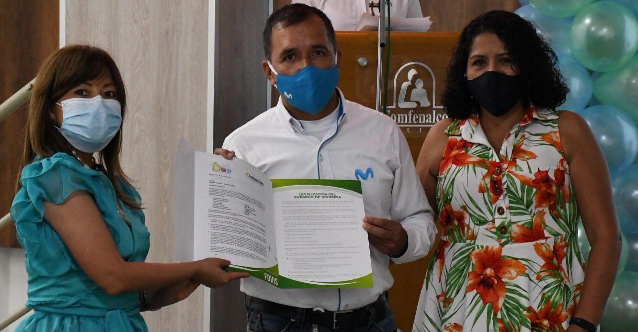 274 afiliados a Comfenalco Tolima recibieron el Subsidio Familiar de Vivienda de Proyectos Integrales