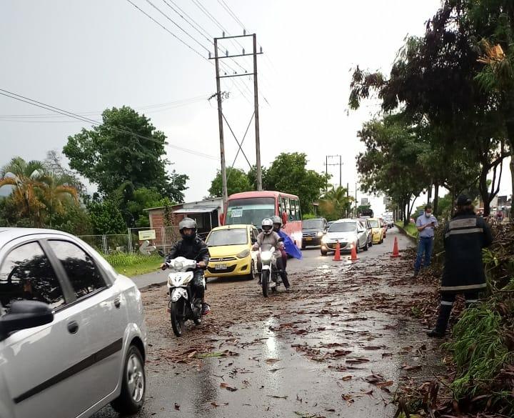 Lluvias provocaron emergencias en barrios de Ibagué