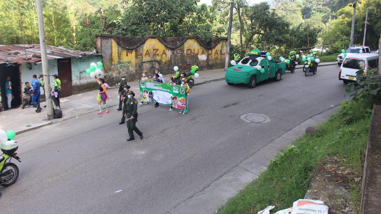 Policía conmemoró el Día de la Familia en Ibagué