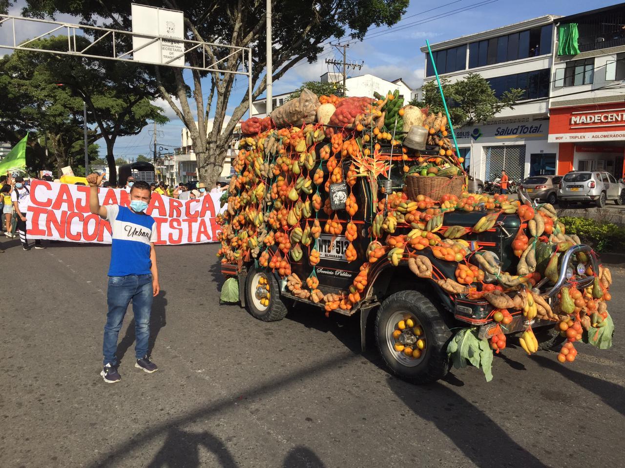 Casi 100 mil personas hicieron presencia en paz y alegría en la Marcha Carnaval en Ibagué