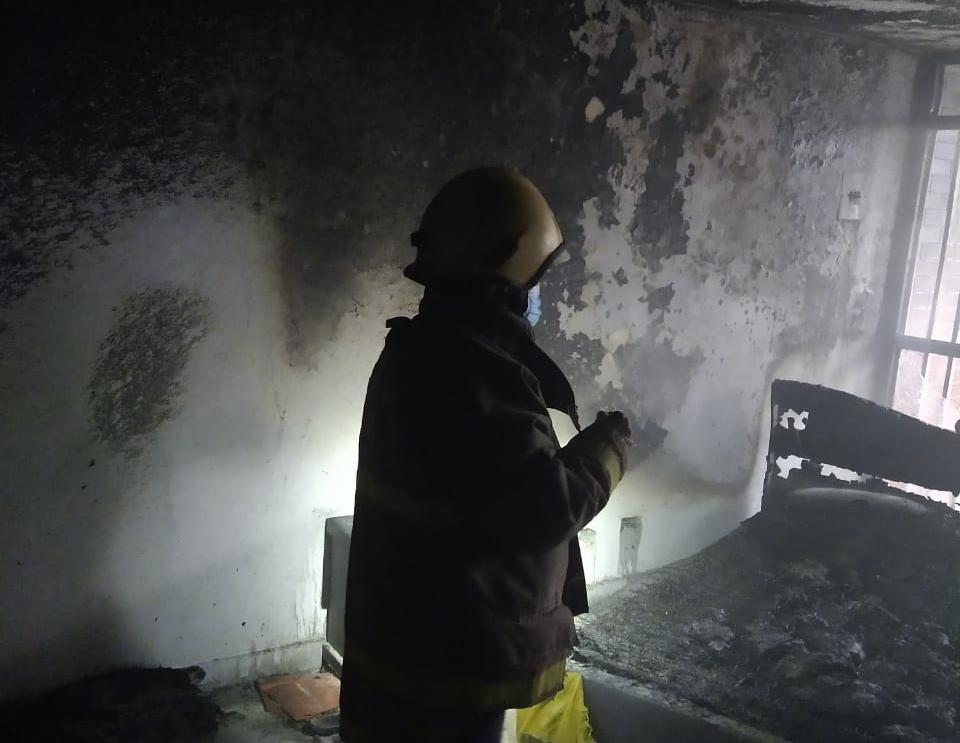 Cuerpo Oficial de Bomberos controló incendio estructural en el barrio Arkalá I