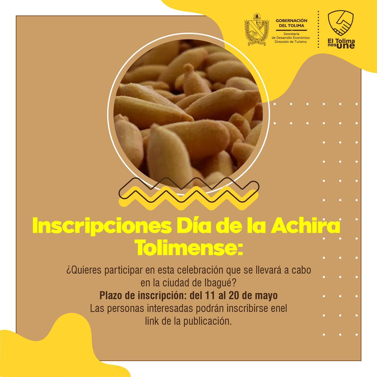 Abiertas las inscripciones para la celebración de los dias de la Lechona, Achira y Sombrero Tolimense