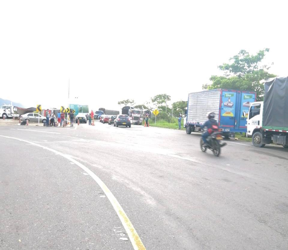 Normalidad en la movilidad del corredor vial Girardot - Ibagué - Cajamarca
