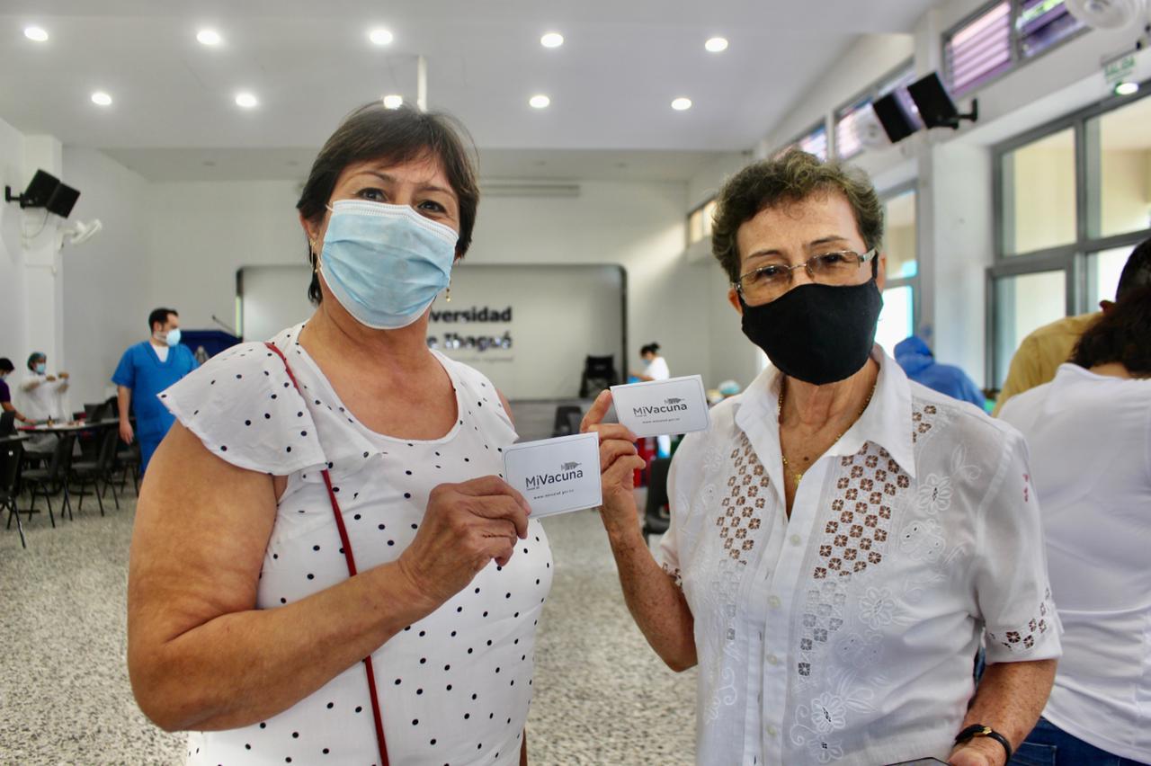 Ibagué inicia con la vacunación de ciudadanos mayores de 55 años