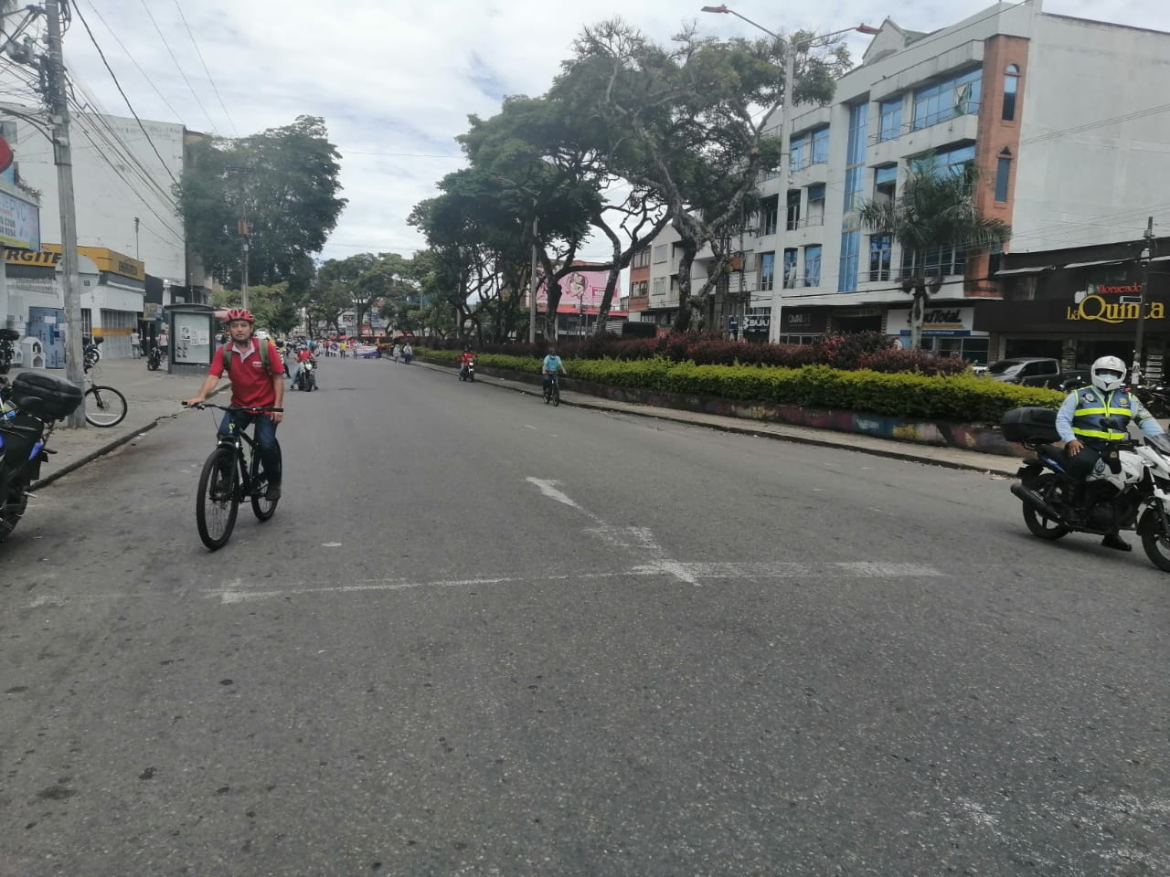 Alcaldía continúa garantizando la movilidad de los ibaguereños durante manifestaciones