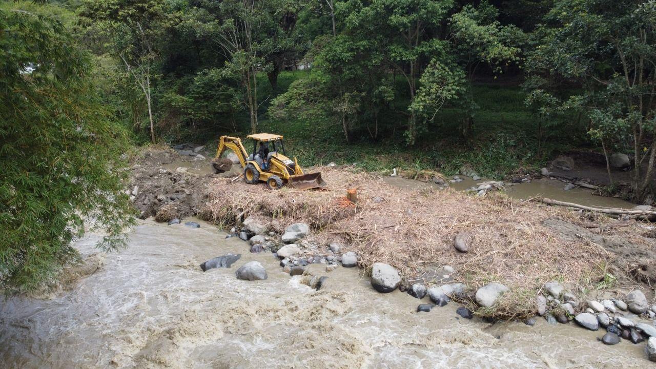Inicia intervención para la recuperación de vías afectadas en el Baltazar