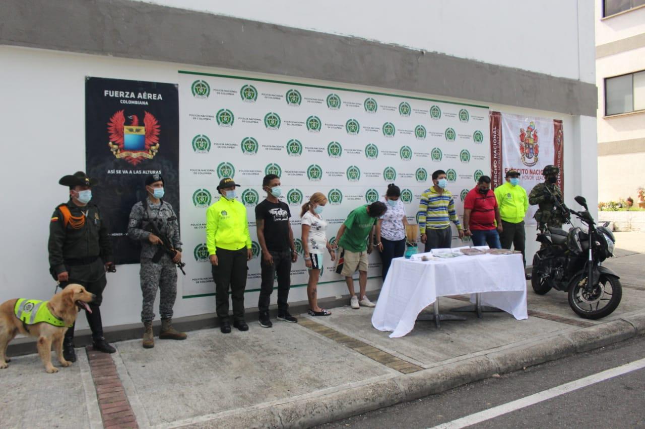 A la cárcel siete presuntos integrantes de 'Los Topos'