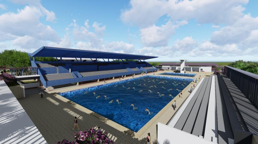 Publican proceso para construcción de las Piscinas Olímpicas de la 42
